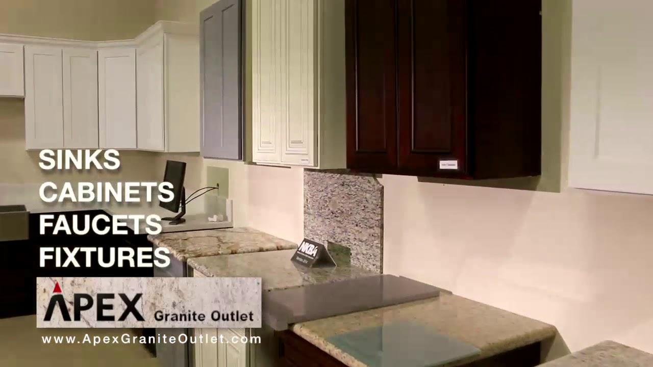 Apex kitchen cabinet granite quartz countertop one for Apex kitchen cabinets