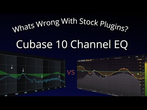 What's Wrong With Stock Plugins? Cubase 10 Channel EQ