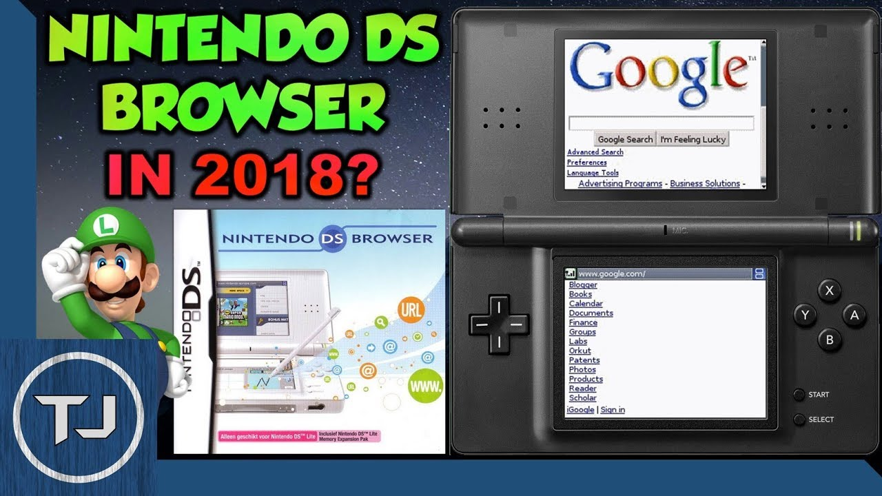 can you use the nintendo ds lite browser in 2018 youtube. Black Bedroom Furniture Sets. Home Design Ideas