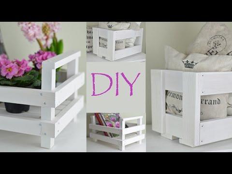 DIY-Kisten aus altem und neuem Holz/Country-, schwedischer Landhausstil/Shabby Chic