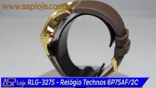9feb372b988 RLG 3275 Relógio Technos Masculino Time de Heróis Guilherme Paraense Tiro  6P75AF 2C