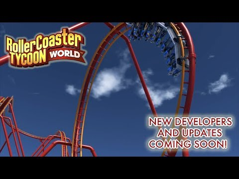 RollerCoaster Tycoon World - New Developers And Updates Coming!