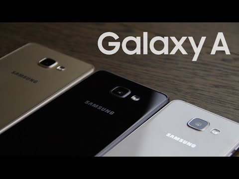 Samsung Galaxy A (2016) icmalı