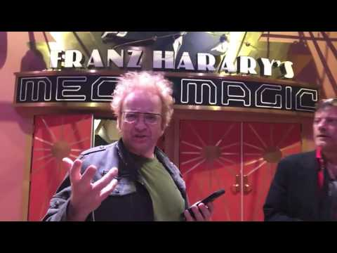 Franz Harary and Rocco at The House of Magic in Macau China