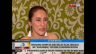 BT: Wedding gown ni AiAi Delas Alas, regalo ng 'kakambal' niyang si Marian Rivera