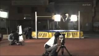 High Jump Hinge Moment Demonstration with Stefan Holm