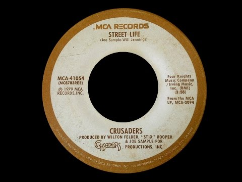 The Crusaders ~ Street Life 1979 Disco Purrfection Version