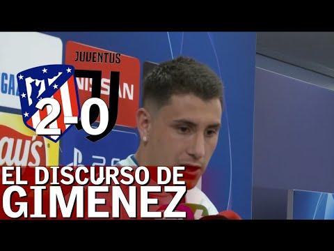 Atlético 2 - Juventus 0 | El discurso de Giménez que emocionará a los atléticos |Diario AS
