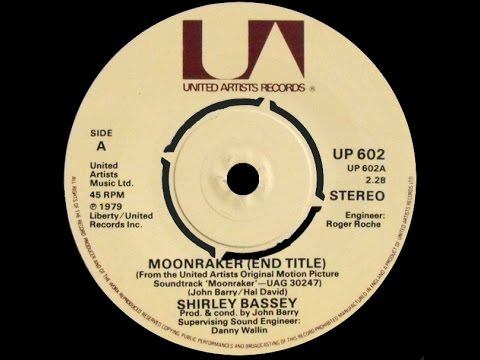 Shirley Bassey ~ Moonraker 1979 Disco Purrfection Version