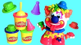 Play Doh Bozo Palhaço de Festa - Play Dough Party Clown Review - Payaso Pagliaccio Payasito