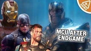 What Does the MCU Look Like Post-Endgame?!? (Nerdist News w/ Jessica Chobot)