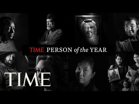 TIME Person Of The Year: The Guardians And The War On Truth   POY 2018   TIME