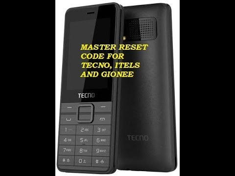 Master Code To Reset Tecno,Gionee and Itel 2018