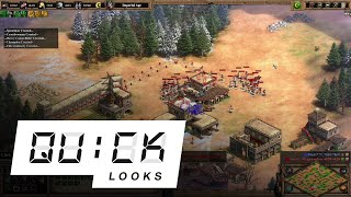 Age of Empires II: Definitive Edition: Quick Look