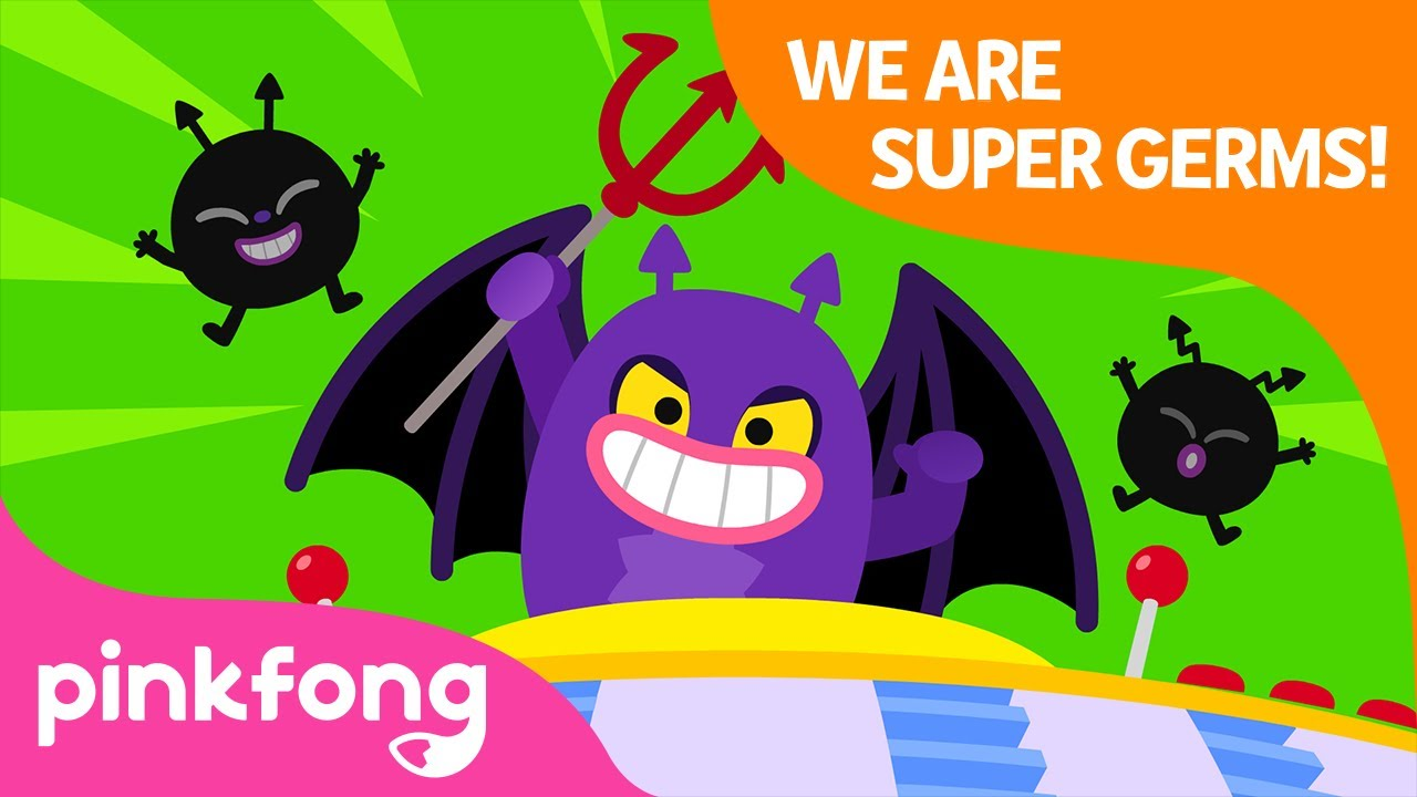 We Are Super Germs | Always Stay Clean | Good Habits | Pinkfong Songs for Children
