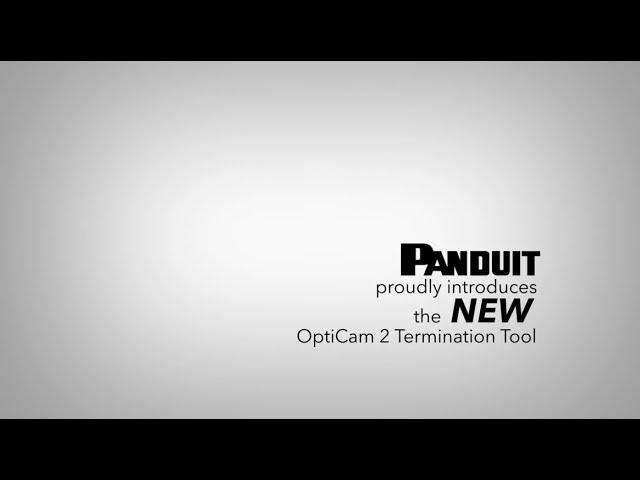 Panduit NEW OptiCam 2 Termination Tool - Pulso IT Live