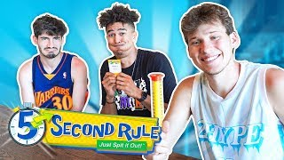 The Funniest 5-Second Rule Game is BACK! w/ 2HYPE House