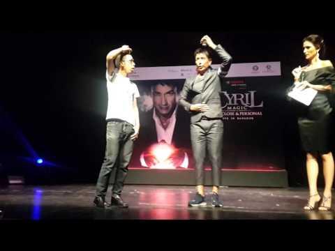 Cyril    magic  press  show  live in bangkok