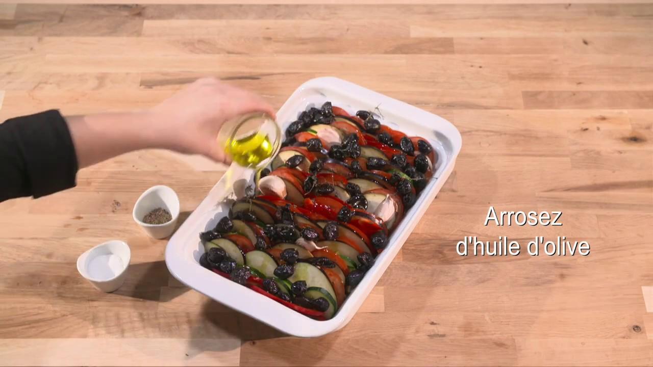 Recette Facile Du Tian Provencal tian provençal - recette au robot multifonction magimix