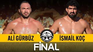 Ali Gürbüz - İsmail Koç Final | 660. Tarihi Kırkpınar Yağlı Güreşleri