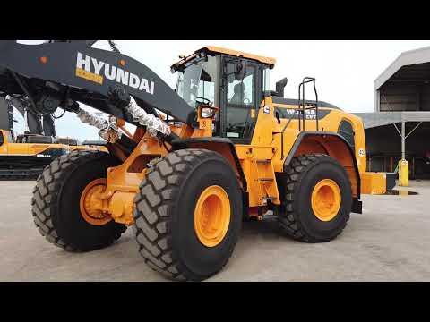 Video Kolové kloubové nakladače Hyundai HL975A CVT