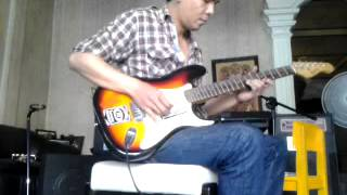 Yngwie guitar, versi disco rock Beethoven (cover)