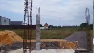 видео Железобетонные колонны