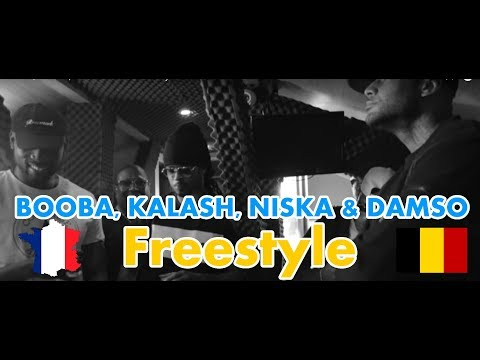 GERMAN REACTS TO FRENCH | BELGIUM RAP: BOOBA, KALASH, NISKA & DAMSO - Freestyle