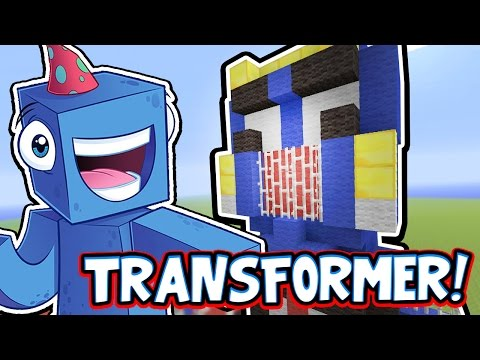 Minecraft Xbox - A TRANSFORMER!! - Building Time [#69]