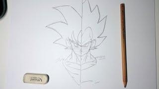 Comment dessiner GOKU et VEGETA d