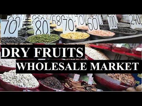 Cheapest Dry Fruits Wholesale Market Khari Baoli
