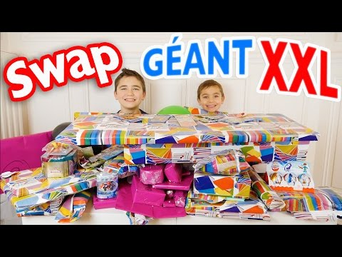 SWAP GÉANT XXL - L'incroyable Swap de Marine ! - Partie 1