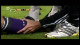 Axel Witsel breaks Wasyl's leg HD Video