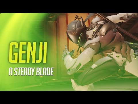Overwatch - Genji Guide - A Steady Blade!  (Tips and Advice)