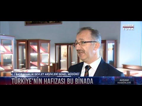 Genel Müdürümüz Prof. Dr. Uğur Ünal'ın Cumhuriyet Arşivi Hak. Habertürk Kanalına Verdiği Röportaj