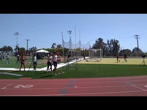 Christian Gatlin... Marina High School... Laguna Beach Prelims...400 Meters... Winner