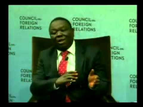 A Conversation with Morgan Tsvangirai
