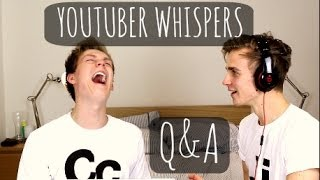Youtuber Whispers Q&A With Caspar