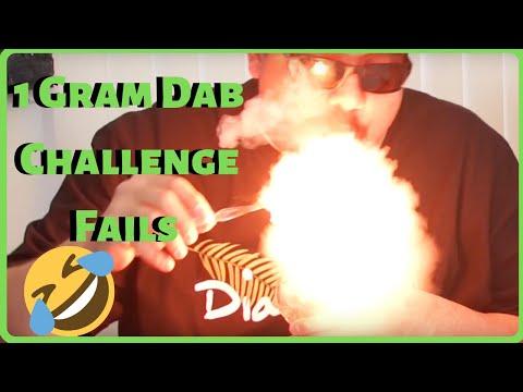 Weed Dab 1 Gram Dab Challenge Fails 2018