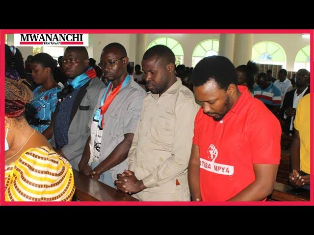 Chadema walivyohudhuria ibada ya kumuombea Mbowe - Mwanza