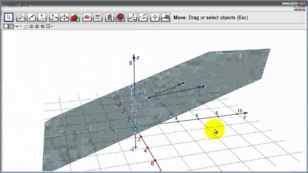 Matematikk R2 - 056 - Parameterfremstilling av plan