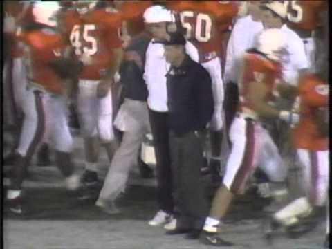 1992 UVA Gator Bowl Highlight