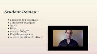 TOEFL Review Wednesdays: Speaking Q1 strategy walkthrough