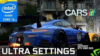 Project CARS - i3 4170 & Gainward GTX 1060 3GB - 1080p - Gameplay