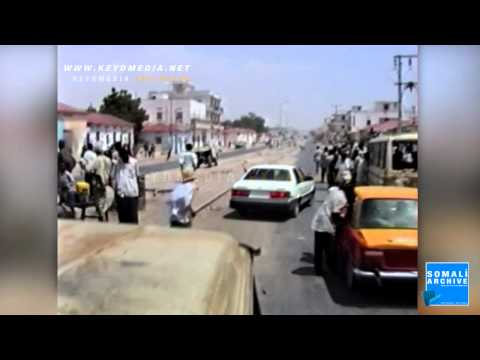 "Streets of Mogadishu After the ""Revolution"" 1992, Somalia"