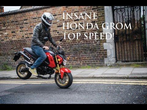 Honda Grom Top Speed Don T Buy One Youtube
