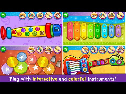 Kids Piano Learning Game,music Game,Kids Education-english Learning,Piano Learning Video Game