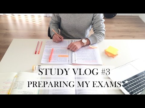 STUDY VLOG #3 - Preparing My Exams