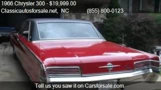 1966 Chrysler 300  for sale in Nationwide, NC 27603 at Class #VNclassics