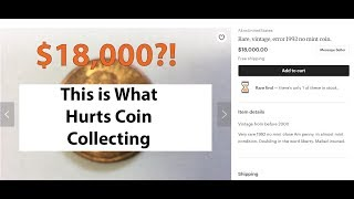 Etsy Coin Ads On Google Search Is Hurting Coin Collecting! My Reaction to Etsy Coin Ads